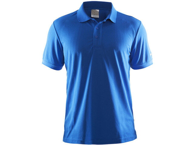 Craft Classic Polo Pique T-shirt Homme, sweden blue